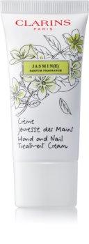 Clarins Specific Care Jasmine hydratačný krém na ruky a nechty