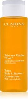 Clarins Body Age Control & Firming Care Dusch- und Badgel mit ätherischen Öl