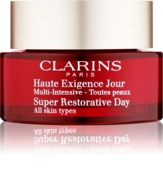 Clarins Super Restorative spevňujúci denný krém pre všetky typy pleti