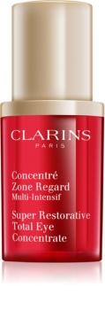 Clarins Super Restorative spevňujúce očné sérum proti vráskam, opuchom a tmavým kruhom