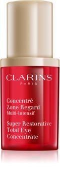 Clarins Super Restorative straffendes Augen Serum gegen Falten, Schwellungen und Augenringe