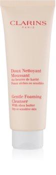 Clarins Cleansers finoman tisztító hab az érzékeny száraz bőrre