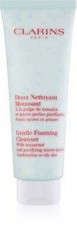 Clarins Cleansers mousse de limpeza para pele oleosa e mista
