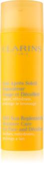 Clarins Sun Soothers soin hydratant après-soleil visage et décolleté
