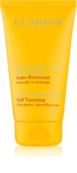 Clarins Sun Soothers crème auto-bronzante hydratante