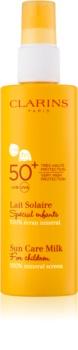 Clarins Sun Protection leite solar para crianças SPF50+