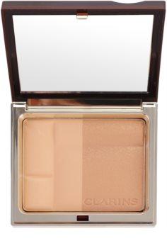 Clarins Face Make-Up Bronzing Duo ásványi bronzosító púder