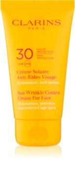 Clarins Sun Protection krema za sončenje proti staranju kože SPF 30