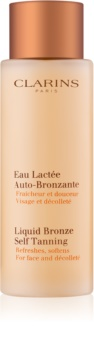 Clarins Sun Self-Tanners Liquid Bronze Self Tanning For Face and Décolleté