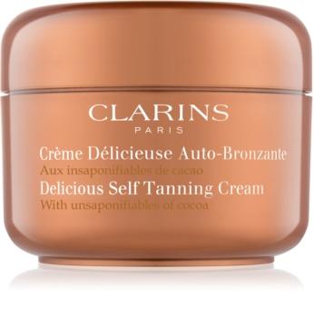 Clarins Sun Self-Tanners Zelfbruinende Crème voor Gezicht en Lichaam  met Cacao Butter