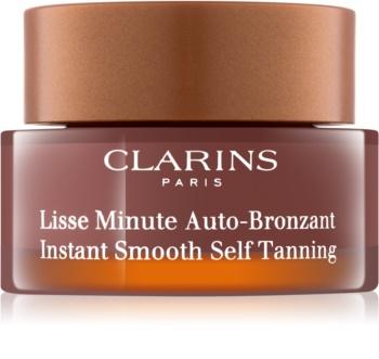 Clarins Sun Self-Tanners espuma autobronzeadora  para rosto, pescoço e decote