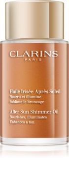 Clarins Sun Soothers Voedende Glitter Olie  After Sun