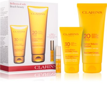 Clarins Sun Protection Cosmetic Set I. (For Tanning)