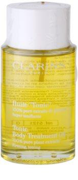 Clarins Body Age Control & Firming Care óleo corporal refirmante  para eliminar as estrias