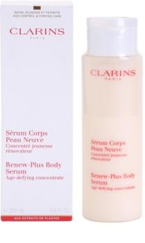 Clarins Body Age Control & Firming Care feszesítő szérum a bőr hidratálásáért és feszességéért