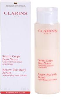 Clarins Body Age Control & Firming Care zpevňující sérum pro hydrataci a vypnutí pokožky