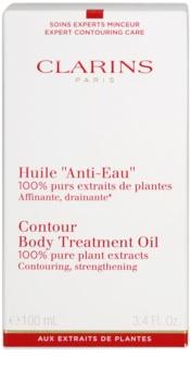 Clarins Body Expert Contouring Care testátalakító olaj növényi kivonattal