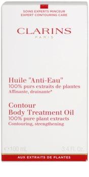 Clarins Body Expert Contouring Care моделююча олійка для тіла з рослинними екстрактами
