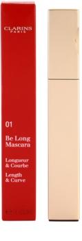 Clarins Eye Make-Up Be Long máscara de pestañas para dar longitud y curvatura