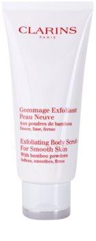Clarins Body Exfoliating Care gommage hydratant corps pour une peau douce et lisse