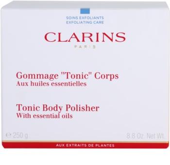 Clarins Body Exfoliating Care spevňujúci telový peeling s esenciálnymi olejmi