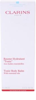 Clarins Body Hydrating Care bálsamo de cuidado corporal com óleos essenciais