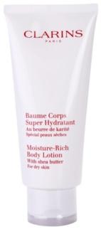 Clarins Body Hydrating Care hydratisierende Körpermilch für trockene Haut
