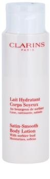 Clarins Body Hydrating Care leite corporal hidratante para pele fina e lisa