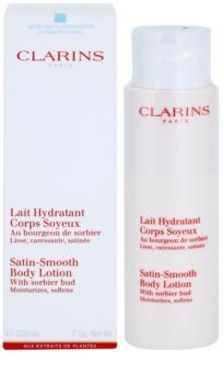 Clarins Body Hydrating Care hidratáló testápoló tej a finom és sima bőrért