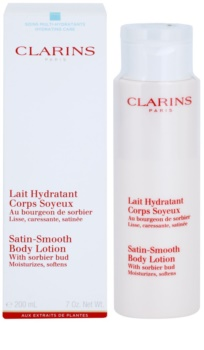 Clarins Body Hydrating Care зволожуюче молочко для тіла для ніжної і гладенької шкіри