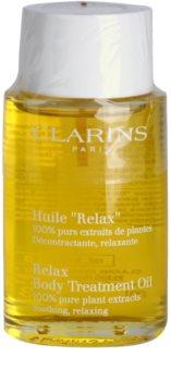 Clarins Body Specific Care olio corpo rilassante con estratti vegetali