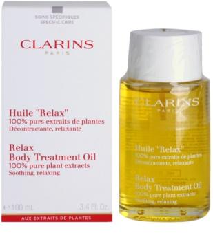 Clarins Body Specific Care relaxační tělový olej s rostlinnými extrakty