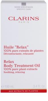 Clarins Body Specific Care релаксиращо олио за тяло с растителни екстракти