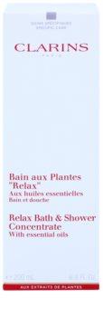 Clarins Body Specific Care relaksujący żel pod prysznic i do kąpieli z olejkami eterycznymi
