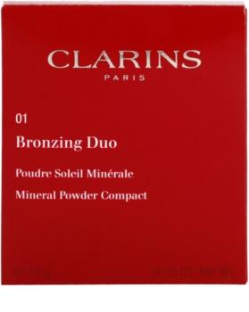 Clarins Face Make-Up Bronzing Duo мінеральна пудра-бронзатор