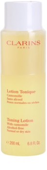 Clarins Cleansers Tonique Lotion with Camomile for Normal or Dry Skin