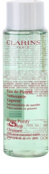 Clarins Cleansers Abschmink-Wasser für fettige und Mischhaut