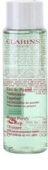 Clarins Cleansers eau démaquillante nettoyante pour peaux grasses et mixtes