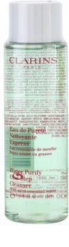 Clarins Cleansers Make-up Reinigende Water  voor Gemengde en Vette Huid
