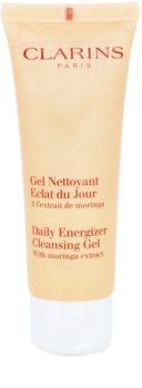 Clarins Daily Energizer gel nettoyant rafraîchissant pour un effet naturel