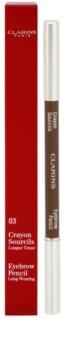 Clarins Eye Make-Up Eyebrow Pencil creion de sprancene de lunga durata