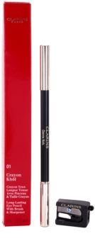 Clarins Eye Make-Up Eye Pencil tužka na oči s ořezávátkem pro kouřové líčení