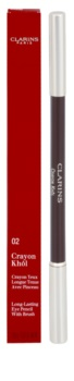 Clarins Eye Make-Up Crayon Khôl ceruzka na oči so štetčekom