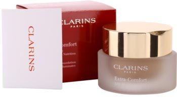 Clarins Face Make-Up Extra-Comfort rozjasňujúci a omladzujúci make-up pre prirodzený vzhľad SPF 15
