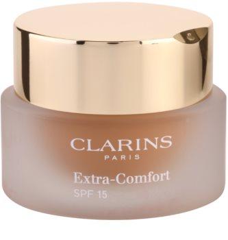 Clarins Face Make-Up Extra-Comfort stralucire si machiaj de intinerire pentru un aspect natural SPF15
