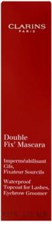 Clarins Eye Make-Up Double Fix' vízálló szempillaspirál fixáló Szempillákra és szemöldökre