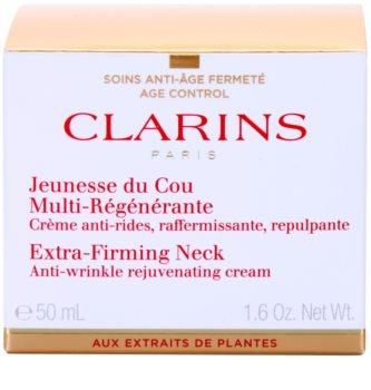 Clarins Extra-Firming spevňujúci protivráskový krém na krk a dekolt