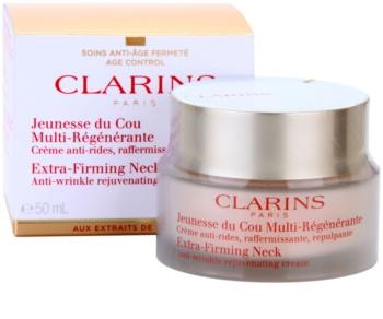 Clarins Extra-Firming feszesítő ránctalanító krém nyakra és a dekoltázsra