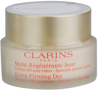 Clarins Extra-Firming Lifting-Tagescreme gegen Falten für trockene Haut