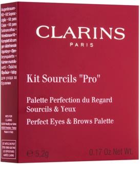 """Clarins Eye Make-Up Kit Sourcils """"Pro"""" sada pro dokonalé obočí"""